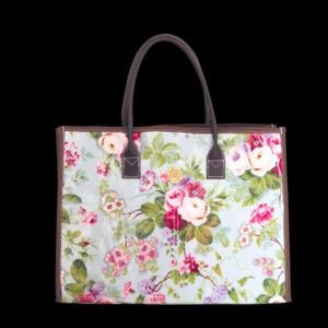 NWT Floral Anna Griffin Tote Bag